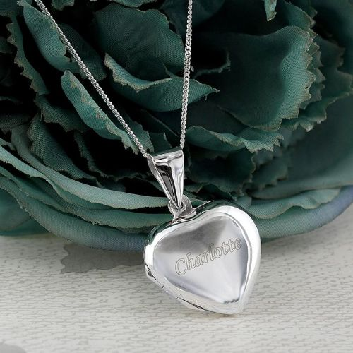 Personalised Heart Locket